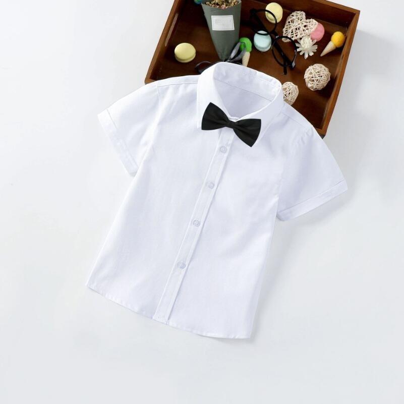 Boys' Turn-Down Collar Shirts