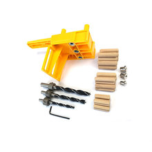 41pcs/set Woodworking Punch Locator  Tools Straight Hole Wood Connection Drilling Positioner Set
