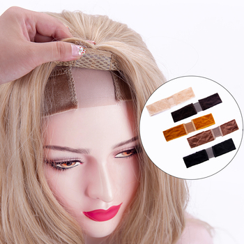 Alileader Wholesale Quality Wig Accessories Grip Black Beige Brown Comfortable Adjustable Band Headband 1Pcs/Lot - discount item  51% OFF Hair Tools & Accessories