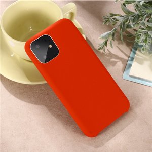 Image 5 - For Iphone 11 5.8 Inch 2019 Case Soft Liquid Silicone Back Cover for Iphone 11 pro Max 5.8 6.1 6.5 2019 Shockproof protect Case