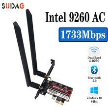 Network-Wifi-Card NGFF Bluetooth 9260NGW Intel Wi-Fi Windows-10 Wireless for Ac Laptop