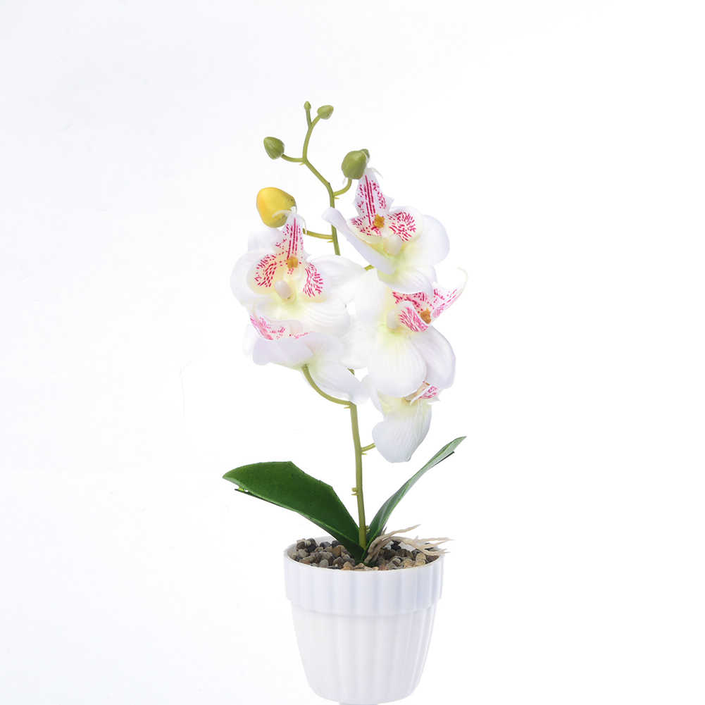 1Pc Artificial Flower Butterfly Orchid Garden DIY Stage Party Weddings Home Decor Artificial Dried Flowers Weddings Party Decor