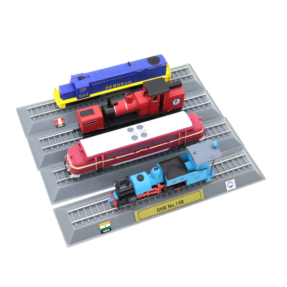 Building Train Model Alloy Locomotive Toy 4 Styles Collection Internal Combustion Engine Steam Engine Sand Table Diorama