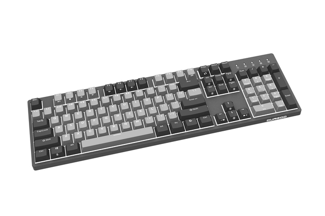 durgod 104 corona k310 backlit mechanical keyboard cherry mx switches pbt doubleshot keycaps brown blue black red silver switch 3