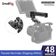 Smallrig Universele Nato Top Handvat Grip Met Koud Shoe Mount/15Mm Rod Klem/Arri Gaten Voor Camera kooi Met Nato Rail - 2439