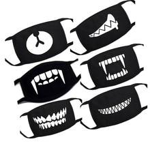 1 шт., с героями мультфильмов детские хлопковые носки, маски для лица, рта Утепленная одежда Для женщин Для мужчин Костюмы Аксессуары Анти-пыль загрязнения унисекс с рисунком из аниме Рот Маски