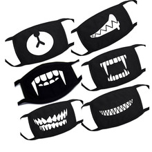 1PC Cartoon Lovely Cotton Mouth Face Masks Keep Warm Women Men Clothing Accessories Anti dust Pollution Unisex Anime Mouth Masks