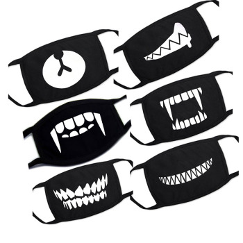 1PC Cartoon Lovely Cotton Mouth Face Masks Keep Warm Women Men Clothing Accessories Anti-dust Pollution Unisex Anime Mouth Masks
