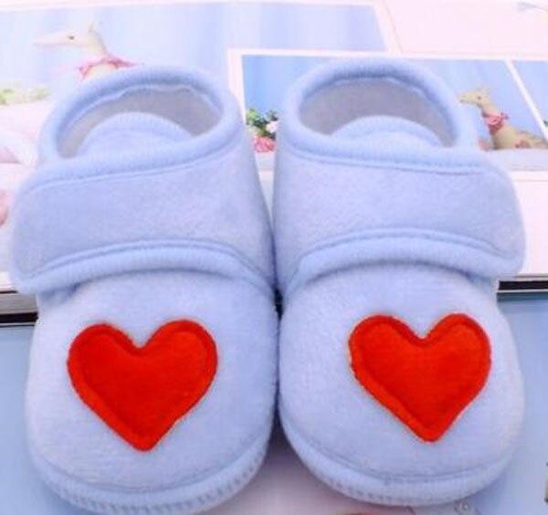 Sapatos bebê vermelho com coração, sapatos infantis rosa de recém-nascido, calçados para berço, antiderrapante, preto, bebê, meninos, nova sandália 2019 doce 5