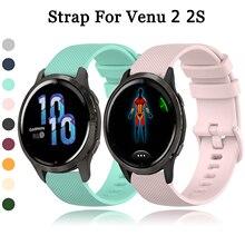 Wrist Strap For Garmin Venu 2 2S SQ Watch Band For Garmin vivomove 3 3S vivoactive 3 4 4S Forerunner 55 158 645 245 Bracelet