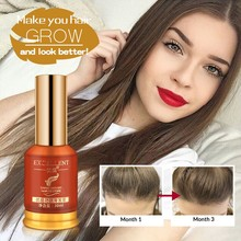 Anti Hair Loss Essence Hair Growth Treatment Oil Fast Thick Hair Eyebrows Support Natural Healthy Hair Treatment for Women(China)