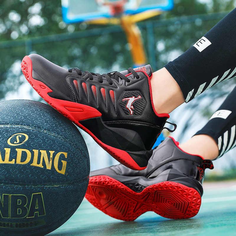 Giày Bóng Rổ Nam Thoáng Khí Đệm Chống Trơn Trượt Đeo Thể Thao Tập Gym Thể Thao Bóng Rổ Giày Cho Nữ