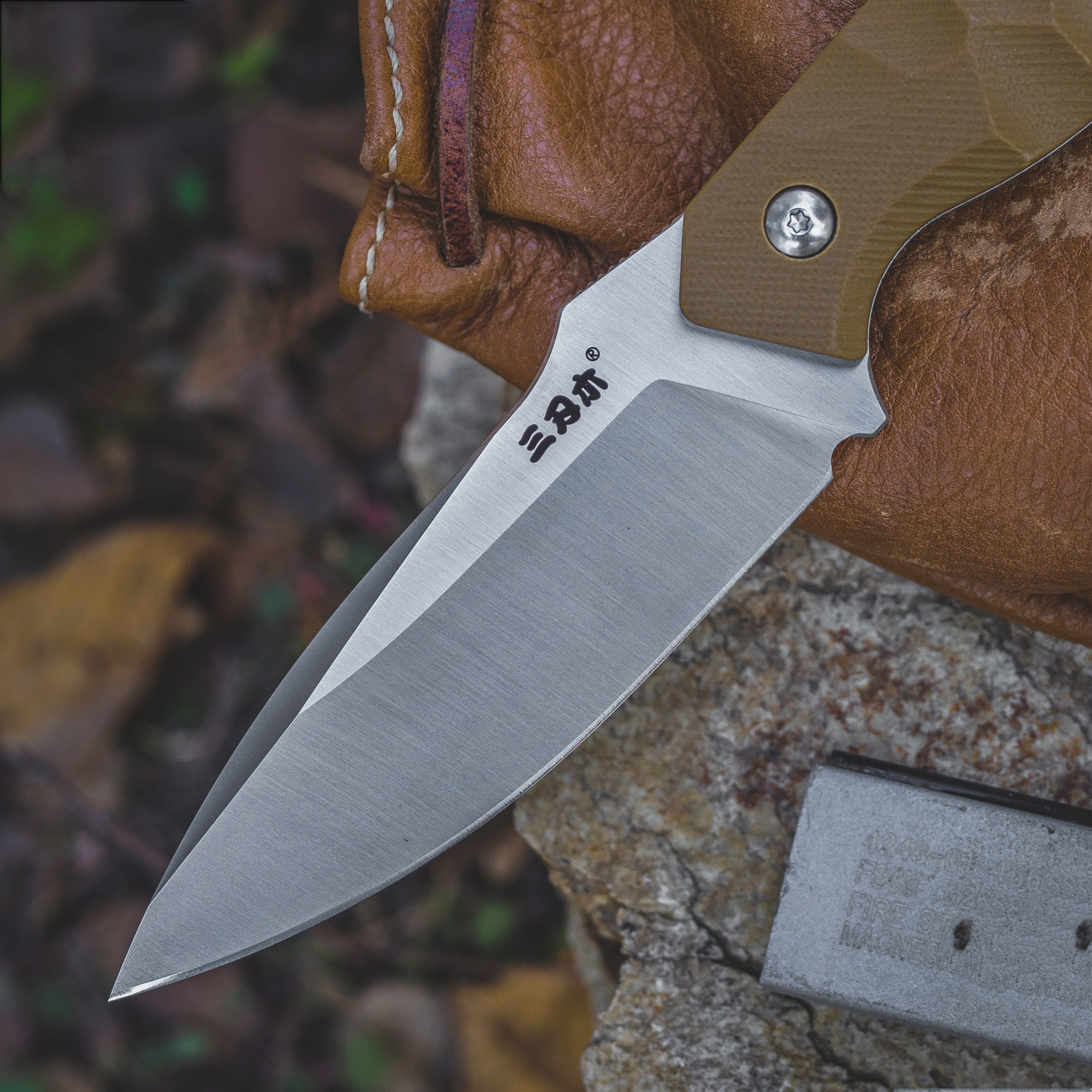 Tool Camping Sheath Survival Tactical 12C27 Hunting Blade Knife K CSGO  Sanrenmu EDC With Outdoor Utility S718 Knife Fixed Blade
