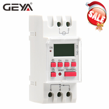 GEYA THC-15 Digital Timer Switch Weekly Programmable Timers 16A 12V 24V 110V 220V 240V Timers dss timers