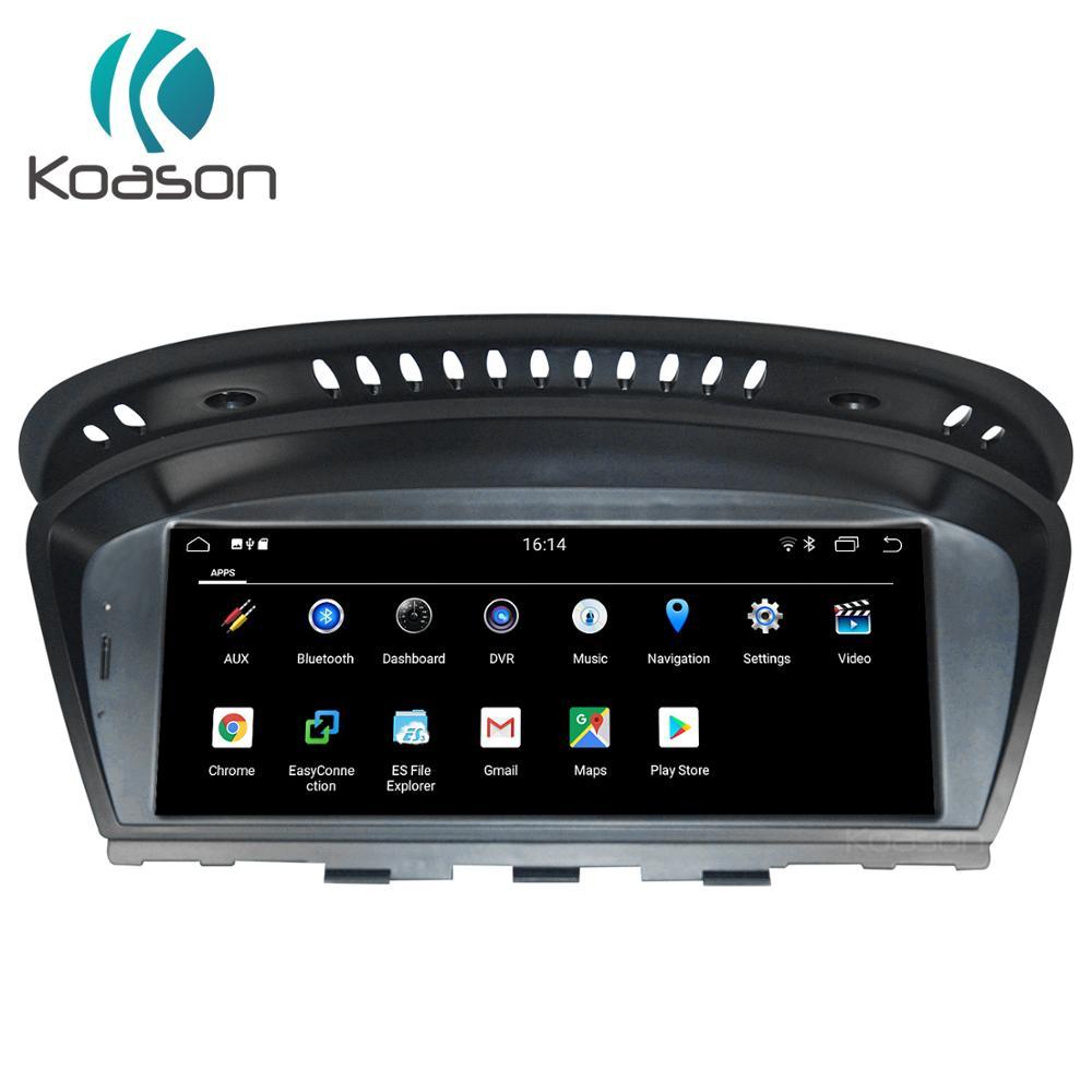 Koason E60 E90 8.8 pouces écran tactile voiture Android 9.0 ID7 autoradio lecteur multimédia pour Bmw 3/5 série CIC/CCC Navigation GPS