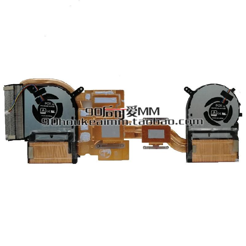 New CPU GPU Cooler Fan For ASUS FX705 FX705G FX705GM FX705GE FX95D FX505DU FX505GE FX505GM FX86 FX86S FX86FE FX86SM Radiator