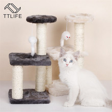 Tree-House Furniture-Decor Climbing-Frame Cat Kitty with Hammock Table Pet-Cat-Toy