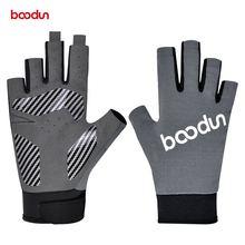 Boodun 1 пара мужские и женские перчатки для рыбалки дышащие