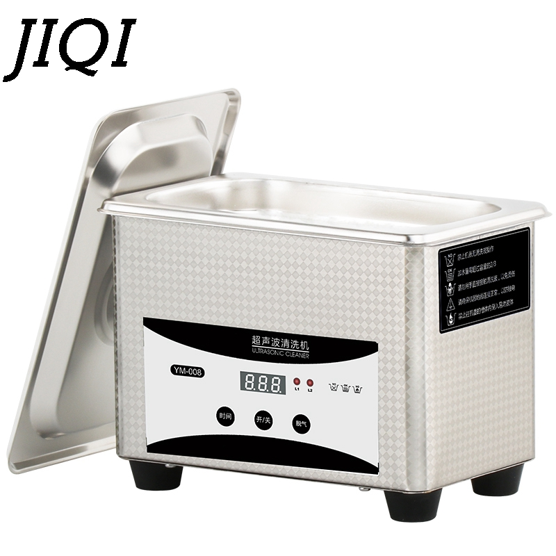 50W/80W Digital Mini Ultrasonic Cleaner Bath Ultrasound Wave Cleaning Machine Glasses Jewelry Circuit Board Sterilizer Washer