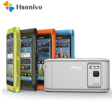 "Originele Nokia N8 Mobiele Telefoon 3G Wifi Gps 12MP Camera 3.5 ""Touch Screen 16 Gb Opslag Goedkope Telefoon refurbished"