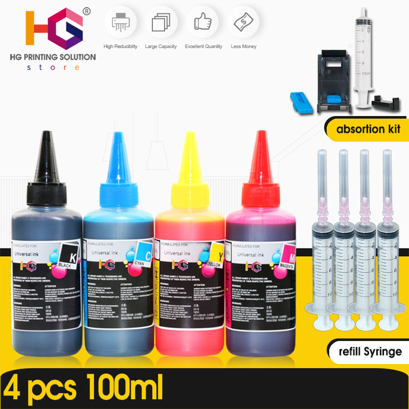 Refill-Ink-Kit Printers CISS HP Epson Canon for HG Dye And