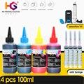Комплект чернил для заправки HG для Epson, Canon, HP, принтера Brother, чернила CISS и многоразовые чернила для красителя принтера