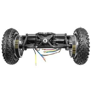 Image 4 - 新しい電動スケートボード1650ワットオフロード電動ロングデュアルモータ2 × 1650ワットの四輪ドライブdiy空気圧ホイールflipsky
