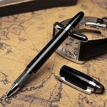 Luxo mb presente esferográfica caneta rolo bola para estudantes da escola artigos de papelaria material de escritório assinatura canetas fonte frete grátis