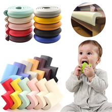 Children Protection 2M Length Table Guard Strip Baby Safety Products Edge Furniture Corner Child Protection Corner Protector