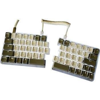 62 Keys Macro Split Mechanical Keyboard Programmable LED Backlight Electric Contest Games PC Laptop MAC WIN7 8 10 OUTEMU Switch
