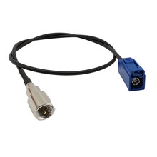 1Pcs FME Male Plug to Fakra C Female Jack Connector RG174 Cable Pigtail Jumper for Car GPS Antenna 10CM 15CM 20CM 30CM 50CM