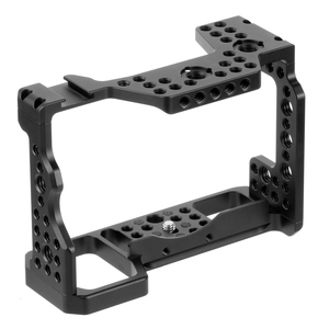 Image 3 - Aluminum QR  Handheld Camera Cage For Sony A7RIII/A7III/A7MIII SLR DSLR Mount Tripod Bracket Photography Extension Kit