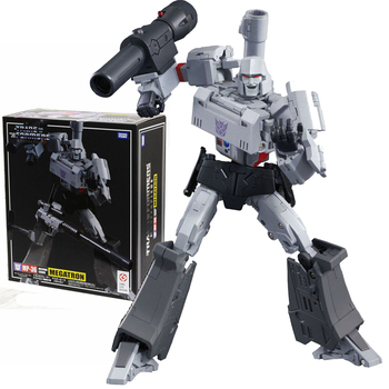 TAKARA TOMY Transformation MP36 CAR Metal Part 36CM Megatron Autobots Action Figure Deformation Robot Children Gift Toys [show z store] 4th party mp36 mightron mp 36 masterpiece new in box transformation action figure