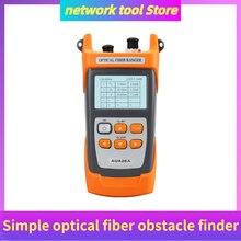 COMPTYCO AUA 28U/28A Simple fibra óptica detector de obstáculos probador de fibra 5m 60km Mini OTDR reflectómetro de fibra óptica, construido VFL