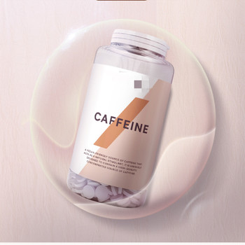 Caffeine tablet 30 high quality refreshment, energy recovery and attention enhancement