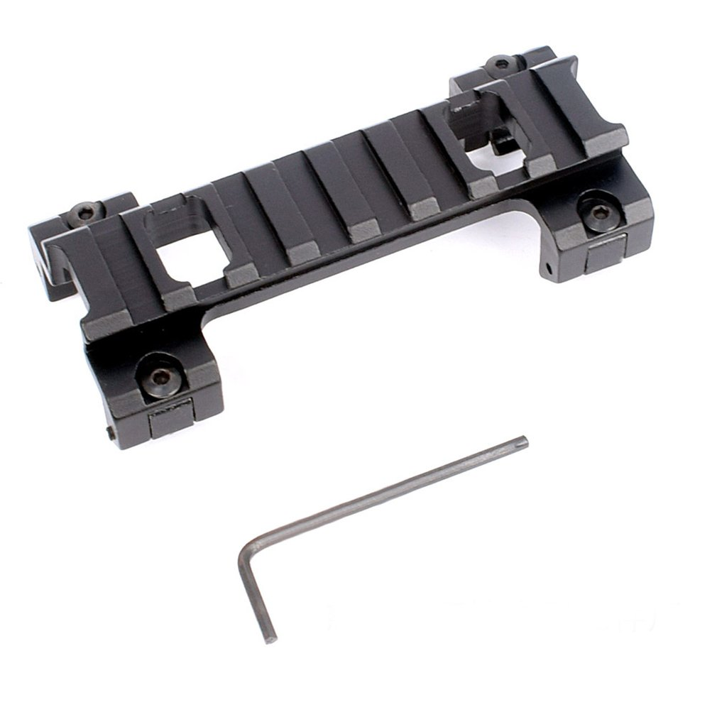 120mm Long 20mm Picatinny Rail Base Higher Mount For Airsoft Rifle Scope Hunting