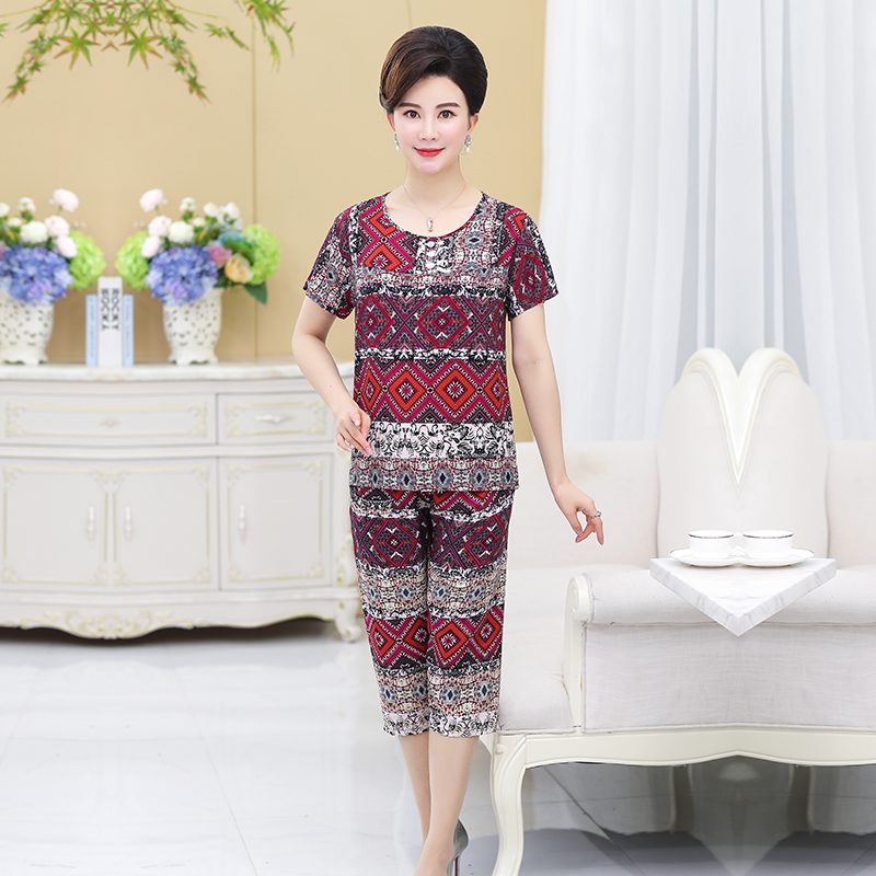 New Arrival Female Pajama Sets For Women Spring Summer Casual Comfortable Sleepwear Lady's Home Suits Mother's Gift