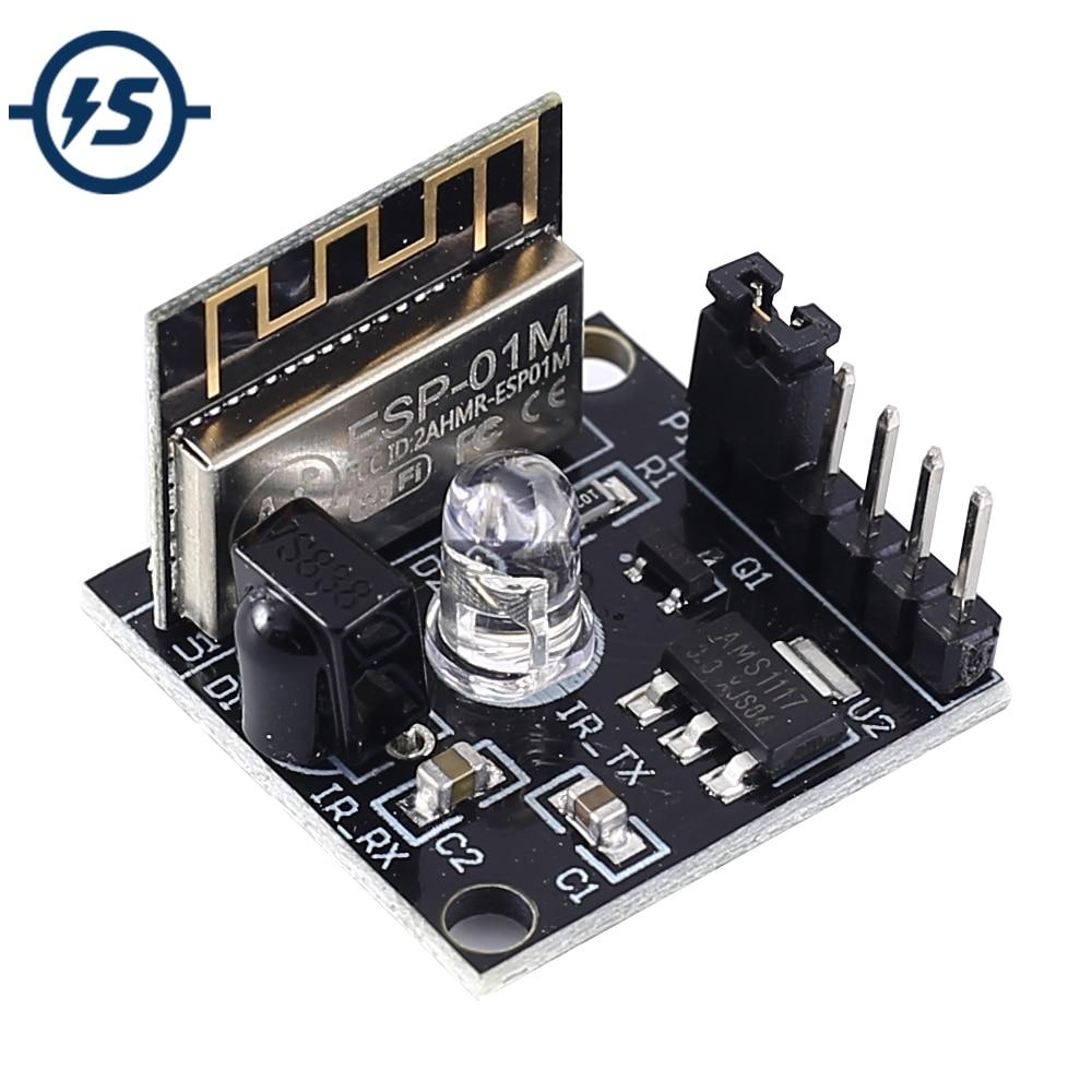 Беспроводной инфракрасного приемника обучения Тип модуль + 3 клавишным Черный пульт дистанционного управления Управление 150mA 5V 2 канальный 2bit DIY Kit|Интегральные схемы|   | АлиЭкспресс