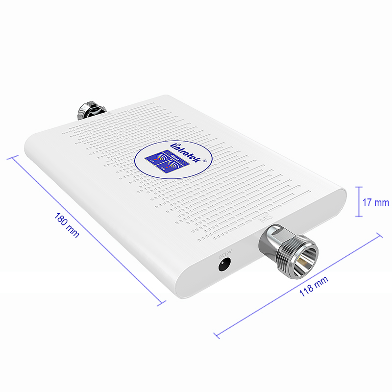 Image 2 - Lintratek 2019 NEW 4G Repeater 3G Booster 2100 1800 Mhz 70dB AGC Dual Band Ampli 4G LTE 1800Mhz DCS 3G 2100Mhz WCDMA Amplifier-in Signal Boosters from Cellphones & Telecommunications
