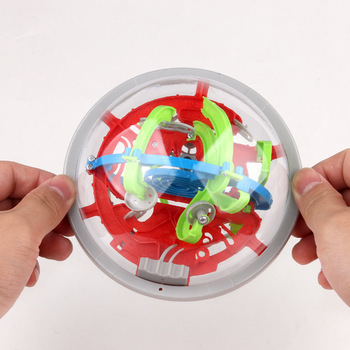 Puzzle 3D Bead Space UFO Labyrinth Ball Stereo Magical Intelligence Kids Boys Girls Gifts