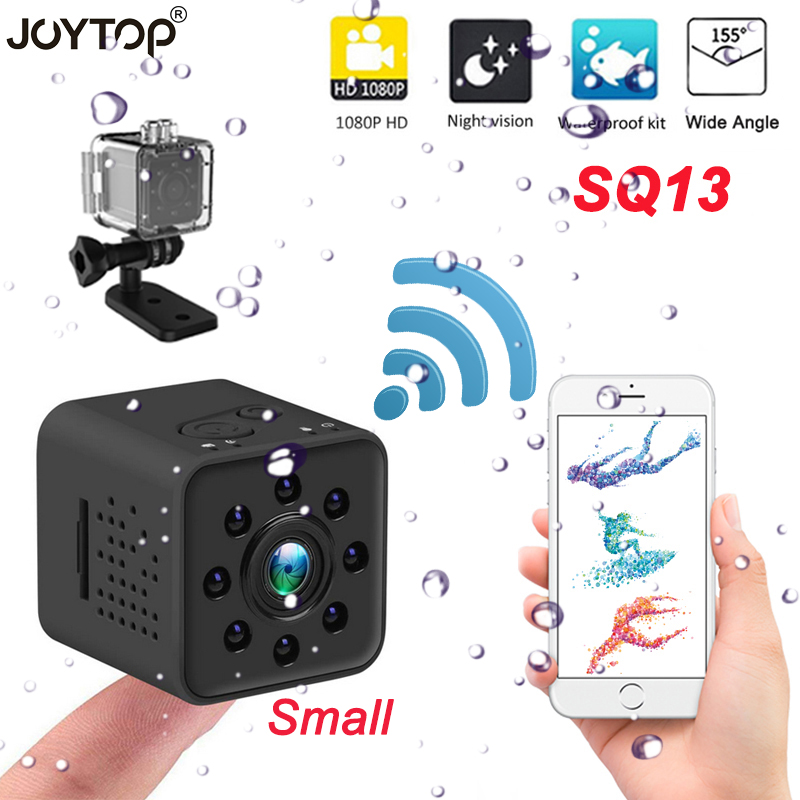 SQ13 HD WIFI Kleine Mini IP Kamera Cam 1080P <font><b>Video</b></font> Sensor Nachtsicht Camcorder Micro Kameras <font><b>DVR</b></font> Motion Recorder wasserdicht image