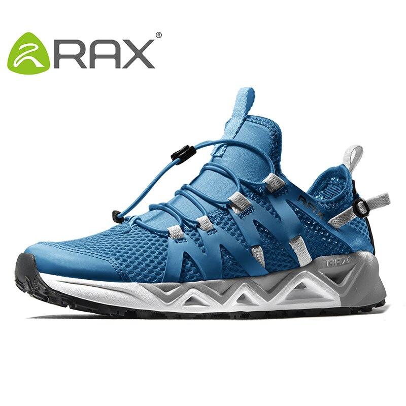 Rax masculino respirável trekking aqua sapatos masculinos