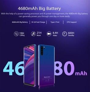 "Image 3 - Blackview A80 Pro Quad Rear Camera Octa Core 4GB+64GB Mobile Phone 6.49"" Waterdrop 4680mAh 4G Celular Smartphone Global Version"