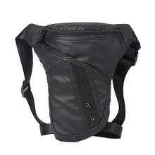 Norbinus bolsa de cintura para homens, durável, para motocicleta, equitação, drop shipping, casual, à prova d água, náilon, cinto de coxa, pochete