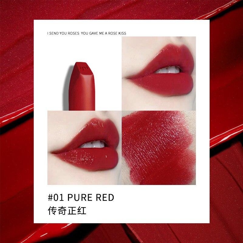 ipi umidade matte cor batom cosmeticos labios 01