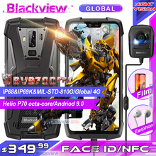 "Blackview BV9700 Pro IP68/IP69K Rugged Mobile Phone Helio P70 Octa core 6GB+128GB 5.84"" IPS 16MP+8MP 4G Face ID Smartphone"