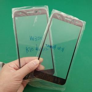 Image 2 - 5 sztuk szkło + oca film wymiana ekran dotykowy LCD pokrywa dla LG K10 moc M320 M320N M320TV (X moc 2) X500 X320S X320K
