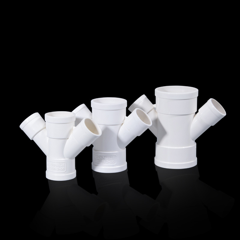 U-PVC Drainage Pipe Fittings 32X25 Lateral Cross Pipe Air Conditioner Drip