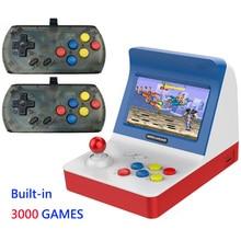 Mini consola de juegos portátil Retro, 4,3 pulgadas, 64 bits, 3000 videojuegos, consola clásica familiar, regalo, recreativos RETRO