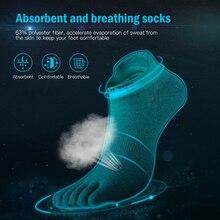 Socks Five-Finger-Socks Cycling Running 1-Pair Women Fitness for Absorbent Athletic-Toe